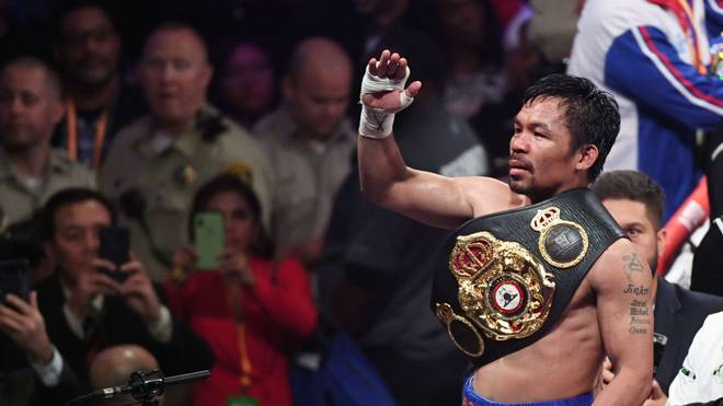 Manny Pacquiao ist WBA-Weltmeister im Weltergewicht