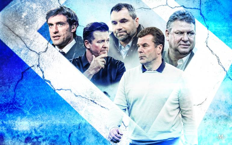 Nach dem verpassten Aufstieg des HSV gehen die Hamburger und Trainer Dieter Hecking getrennte Wege. Der Klub verschleißt den 26. Trainer seit dem Jahr 2000. SPORT1 zeigt das oft unrühmliche Ranking der HSV-Trainer in diesem Jahrtausend nach ihrem erbeuteten Punkteschnitt