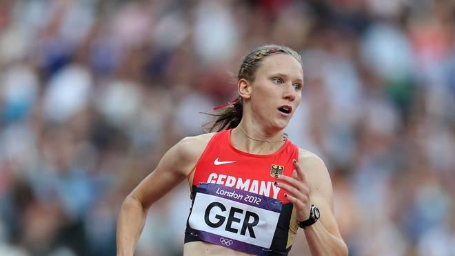 Fabienne Kohlmann lief die 1:59,42 Minuten