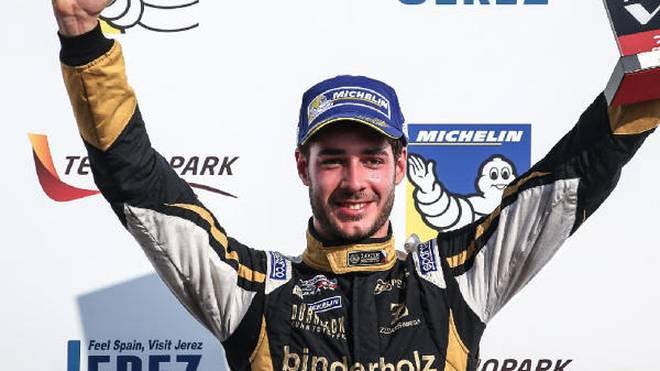 Rene Binder darf über einen neuen Arbeitsplatz in der Indy-Car-Serie jubeln