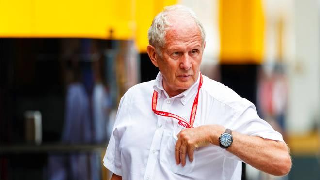 Helmut Marko von Red Bull wurde zu unrecht von Lewis Hamilton attackiert