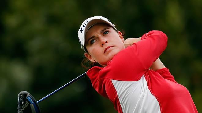Caroline Masson liegt auf dem dritten Rang