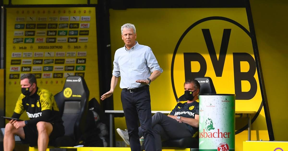 BVB-Pleite gegen FC Bayern: Dortmund-Trainer Favre trotzig - Can verwundert
