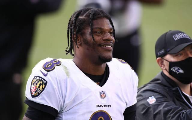Lamar Jackson zählt zu den beliebtesten Spielern der NFL