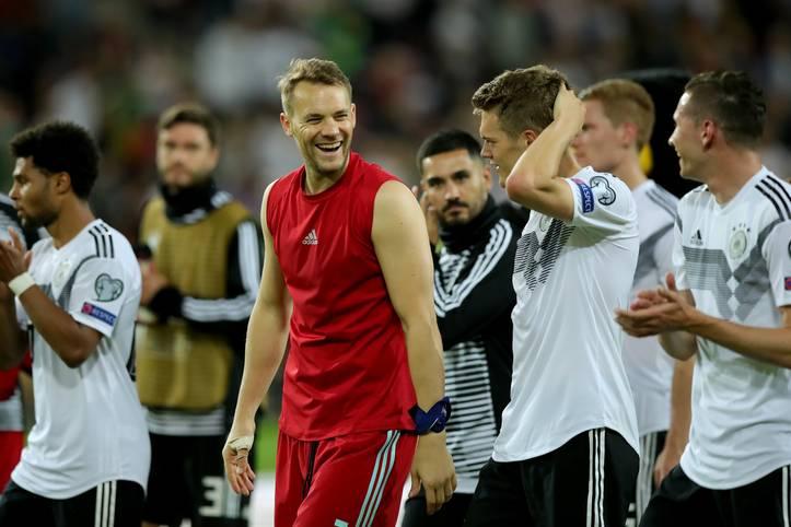 Freudige Gesichter bei Manuel Neuer und Co., Euphorie auf den Rängen: Mit dem 8:0 in der EM-Qualifikation gegen Estland hat die deutsche Nationalmannschaft ein wahres Schützenfest gefeiert - nicht zum ersten Mal! SPORT1 zeigt die höchsten Siege der DFB-Historie