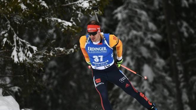 Die deutschen Biathleten am Freitag im Sprint