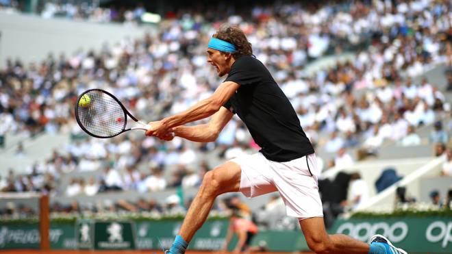 Alexander Zverev scheiterte 2019 in Paris im Viertelfinale an Novak Djokovic