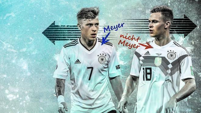 Max Meyer, Joshua Kimmich, DFB, Deutschland