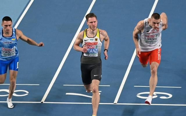 Kevin Kranz sprintet zur Silbermedaille in Torun