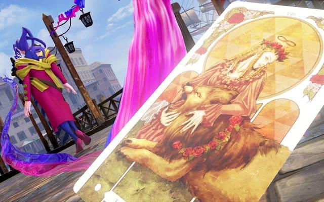 Wahrsagerin Rose hatte ihren ersten Auftritt in Street Fighter Alpha