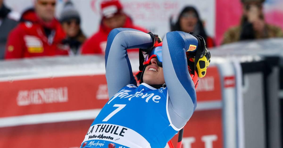 Ski Alpin: Ortlieb gewinnt Super-G in La Thuile vor Brignone und Suter