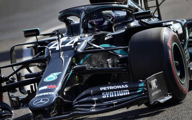 Lewis Hamilton könnte am Sonntag bis auf einen Sieg an Michael Schumacher heranrücken