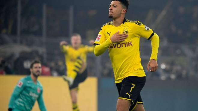Dortmund-Star Jadon Sancho erhält 96 Punkte auf seiner TOTSSF-Karte