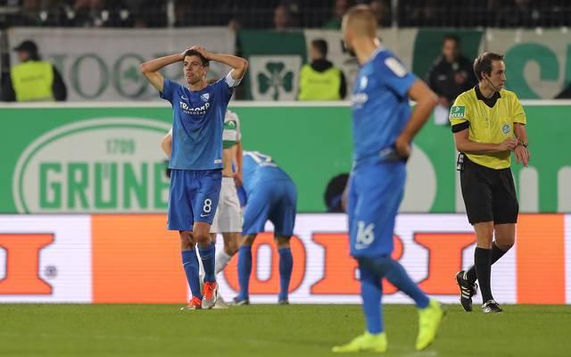 Der VfL Bochum hat eine überraschende Auswärtsniederlage kassiert