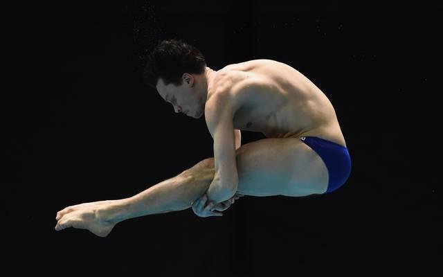 Patrick Hausding kämpft am Sonntag im Finale vom 1-m-Brett um eine Medaille