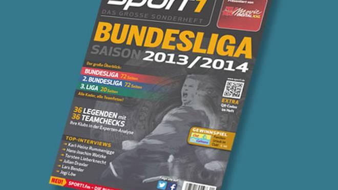 "Das neue ""SPORT1 Bundesliga Sonderheft"" - ab 17. Juli am Kiosk und digital als iPad-App"