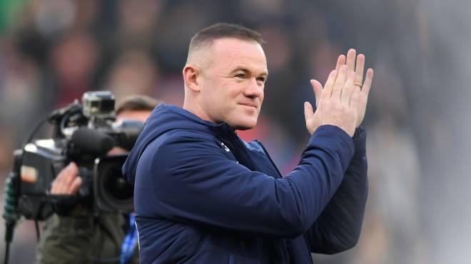 Wayne Rooney ist Spielertrainer bei Derby County