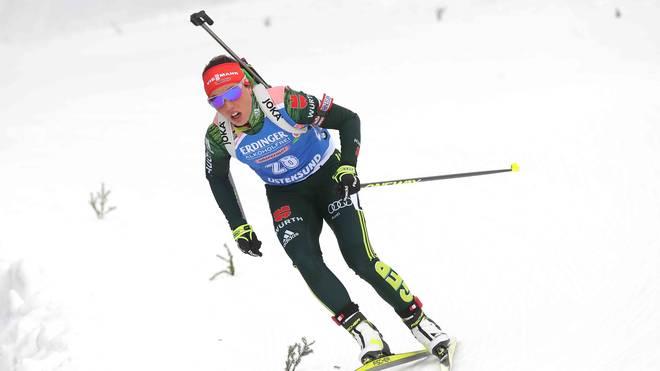 Laura Dahlmeier - Biathlon, Oslo: Sprint mit Dahlmeier LIVE im TV, Stream, Ticker