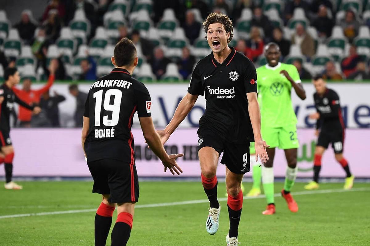 Sam Lammers hat nach drei Spielen für die Eintracht bereits zwei Tore auf dem Konto. Kann der Niederländer André Silva schneller als gedacht vergessen machen?