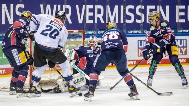 Berlin schlug die Nürnberg Ice Tigers