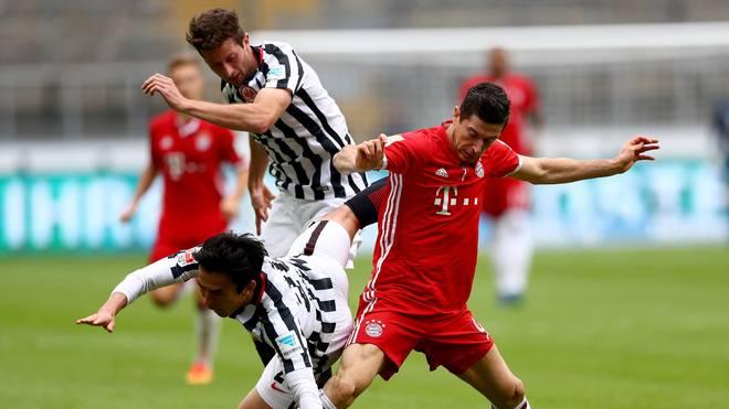 Eintracht Frankfurt v Bayern Muenchen - Bundesliga