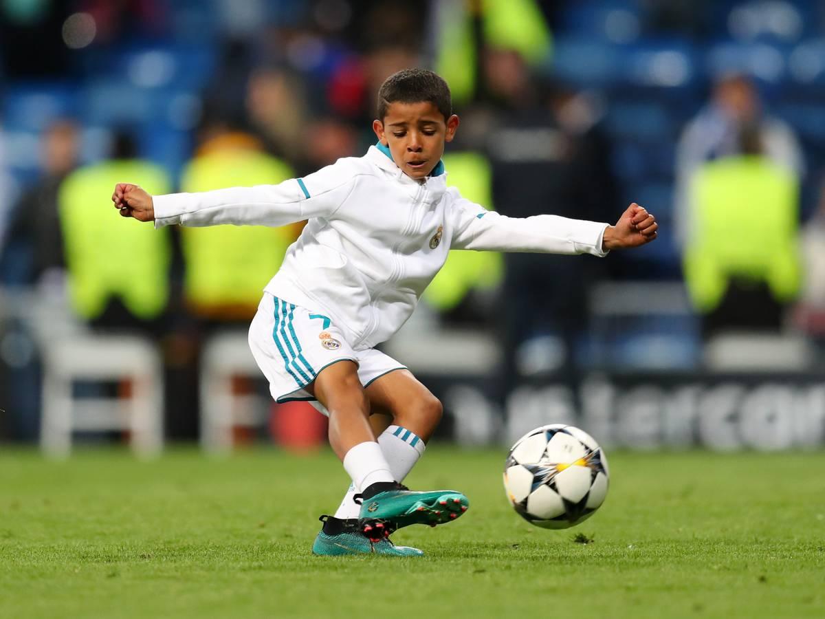 Juventus Turin Cristiano Ronaldos Sohn Erzielt 7 Tore Fur