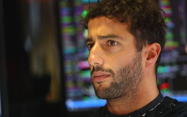 Daniel Ricciardo wurde vor dem Rennen von Singapur bestraft