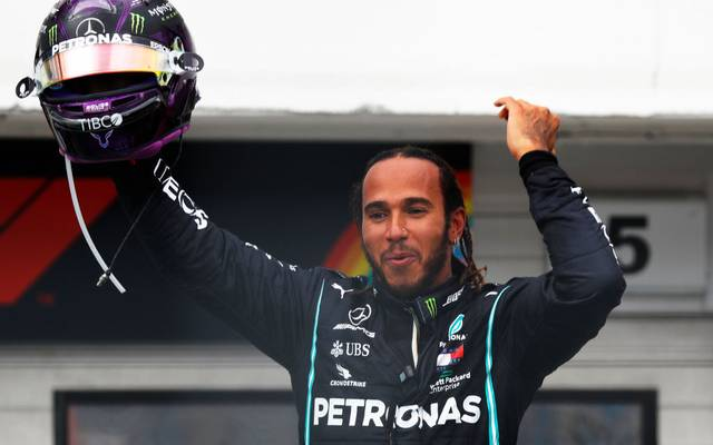Lewis Hamilton führt nach drei Rennen die WM-Wertung an