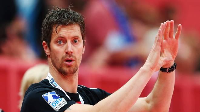 Handball-Trainer Markus Gaugisch in Aktion