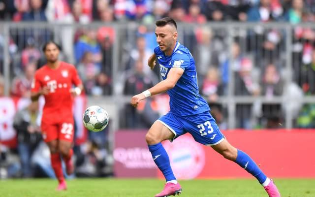 Sargis Adamyan droht der TSG Hoffenheim im DFB-Pokal gegen den FC Bayern zu fehlen