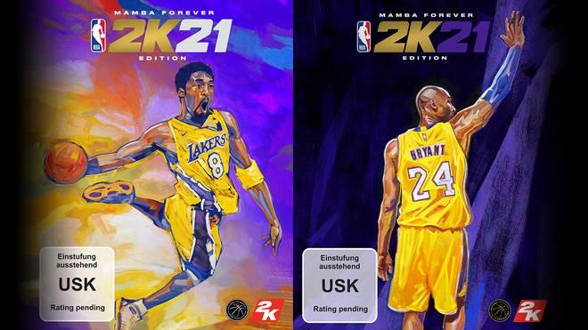 Kobe Bryant ist der Coverstar der NBA 2K21 Mamba Forever Edition