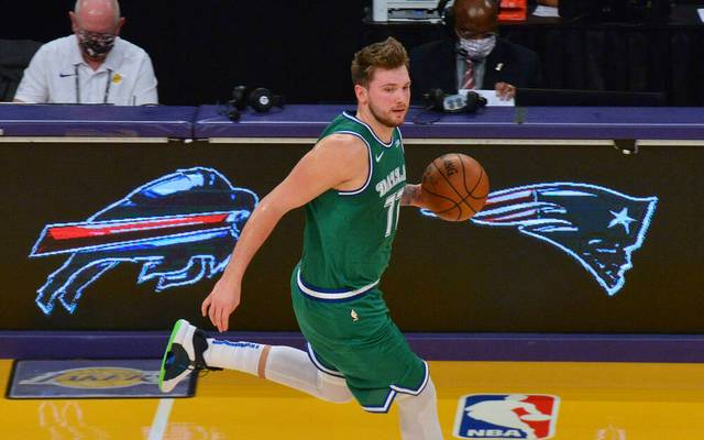 Luka Doncic unterlag mit den Dallas Mavericks