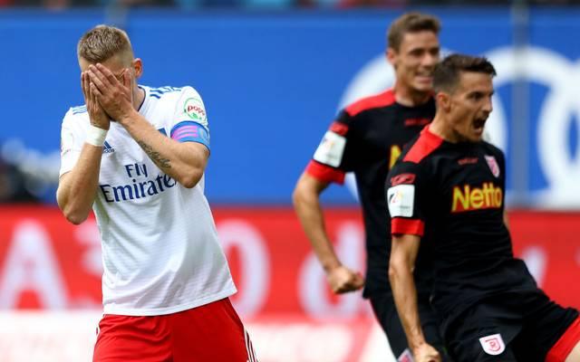 In der vergangenen Saison gab es für den HSV gegen Regensburg keinen Grund zum Jubeln
