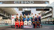ABU DHABI, UNITED ARAB EMIRATES - DECEMBER 01: The F1 Drivers Class of 2019 photo is taken on track before the F1 Grand Prix of Abu Dhabi at Yas Marina Circuit on December 01, 2019 in Abu Dhabi, United Arab Emirates. (Photo by Dan Istitene/Getty Images)