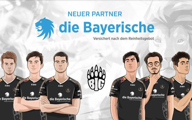 Einstieg in den eSports: Die Bayerische wird Partner von BIG