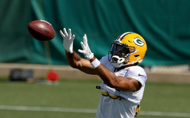Equanimeous St. Brown im Trainingscamp der Green Bay Packers im Sommer 2020