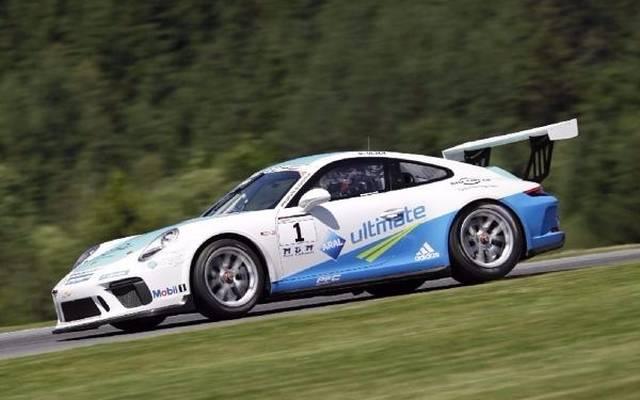 Dennis Olsen feierte einen erneuten Sieg im Porsche-Carrera-Cup
