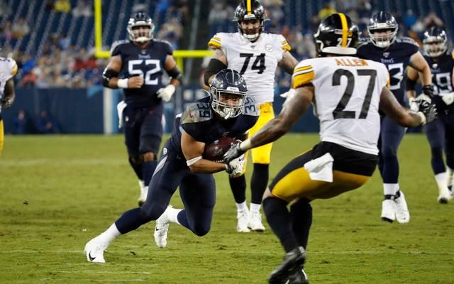 Das Duell zwischen den Titans und den Steelers muss verlegt werden