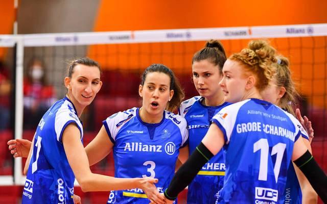 Die Mannschaft aus Stuttgart will den neunten Sieg einfahren