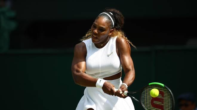 Serena Williams kämpft im Finale von Wimbledon