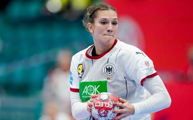 Julia Behnke erzielte vier Treffer bei der Niederlage