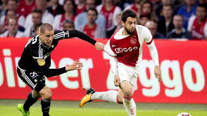 Amin Younes (r.) spielte von 2015 bis 2018 für Ajax Amsterdam