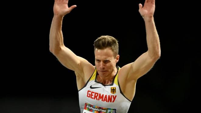 Markus Rehm holt den fünften Titel in Serie