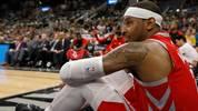 Carmelo Anthony im Trikot der Houston Rockets
