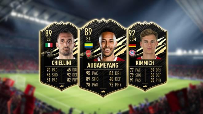 Das FIFA Ultimate Team der Woche mit Chiellini, Aubameyang und Kimmich