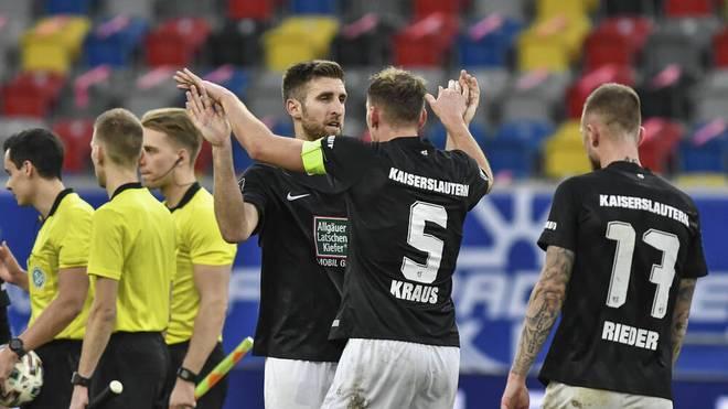 Der 1. FC Kaiserslautern holte gegen Uerdingen einen wichtigen Sieg
