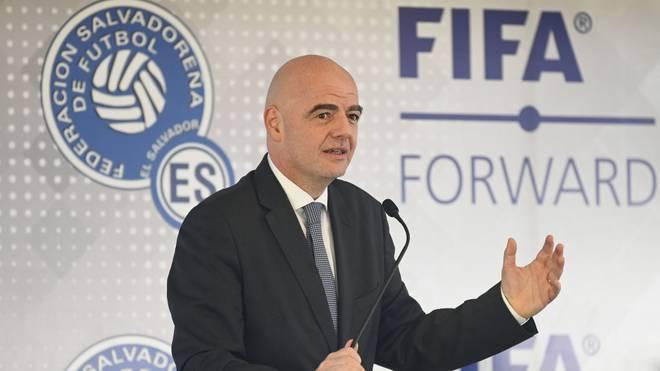FIFA-Präsident Gianni Infantino sieht eine mögliche Super League kritisch