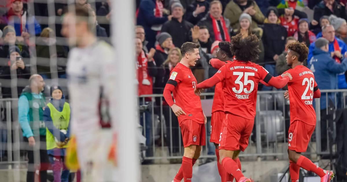 FC Bayern - SC Paderborn 3:2 - Manuel Neuer mit Fehler, Lewandowski trifft