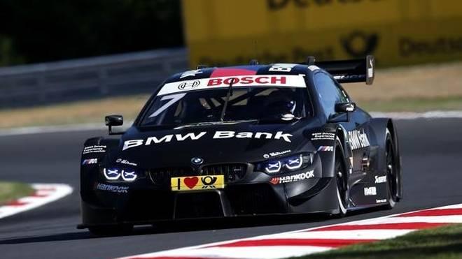 Bruno Spengler setzt die erste Bestzeit am Nürburgring