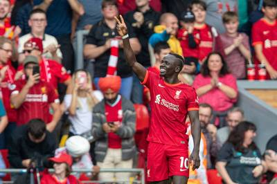 Sadion Mané erzielte gegen Crystal Palace den Treffer zum 1:0